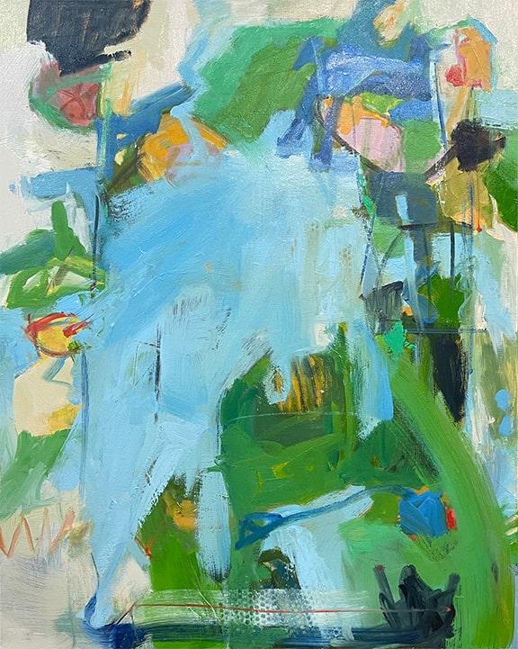 Not So Silent Spring, Oil, 30x24